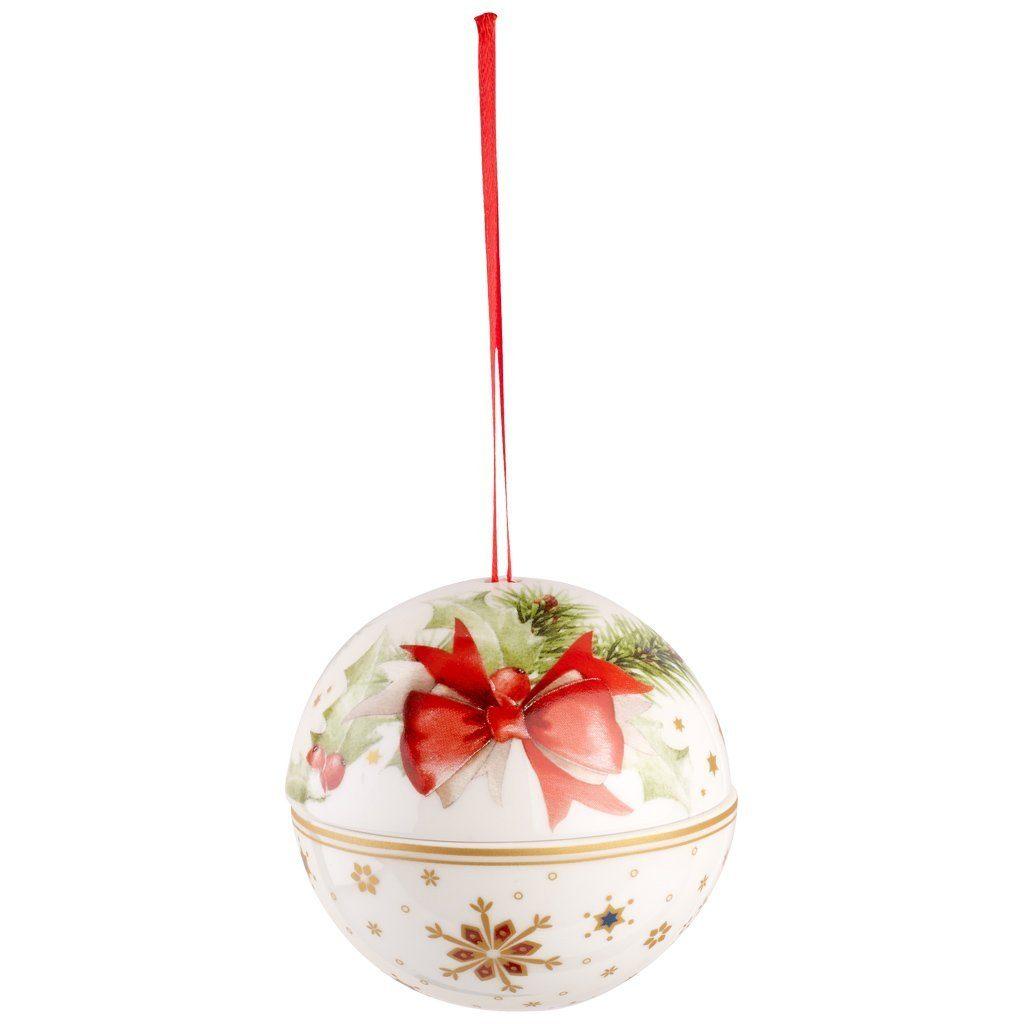 VILLEROY & BOCH Kugel Schleife 10cm »Christmas Balls«
