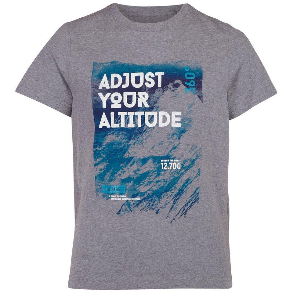 Chiemsee T-Shirts »OTIS 2 JUNIOR« in neutral grey me