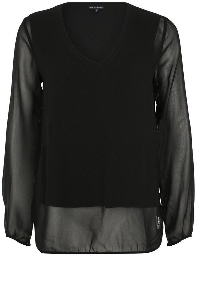 Better Rich Bluse »BLOUSE VOILE DOUBLE« in black