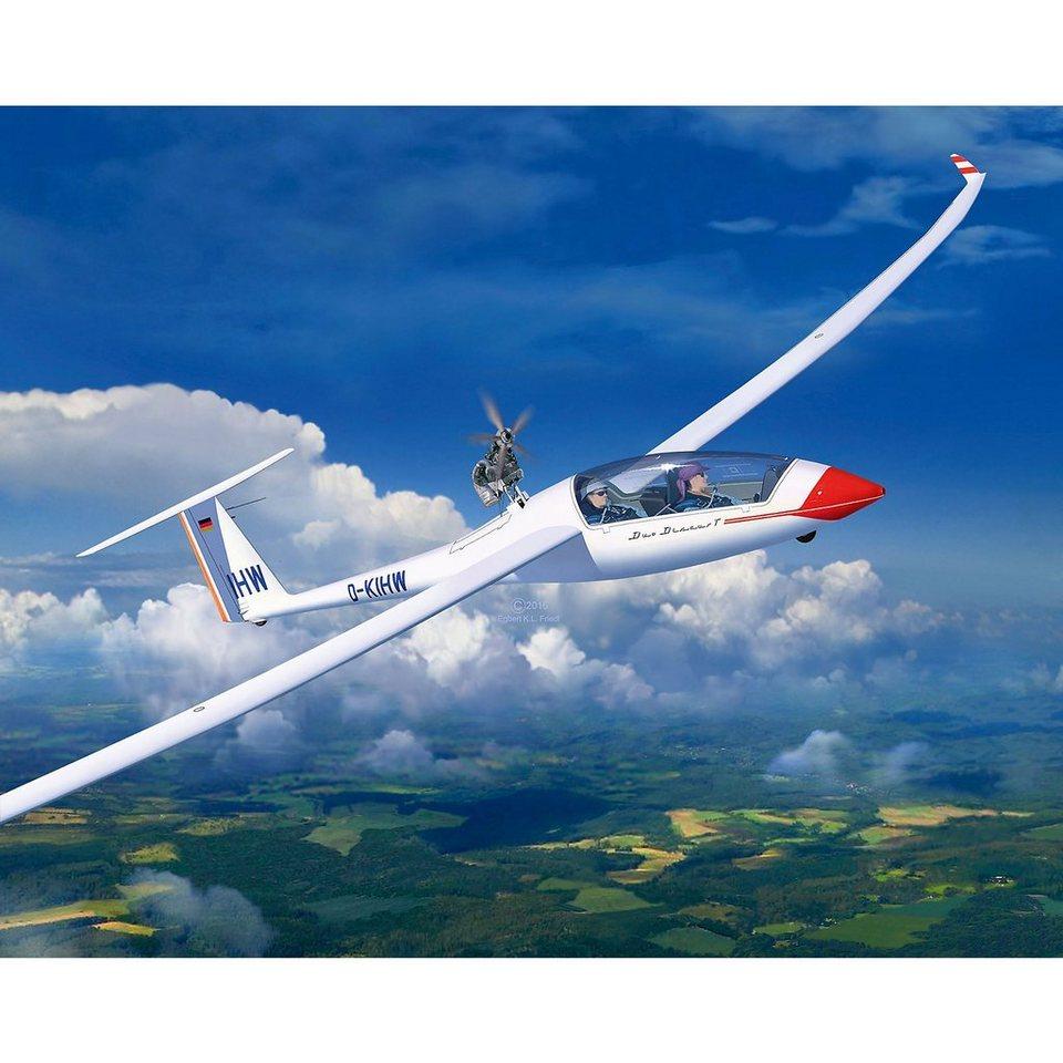 Revell Modelbausatz Glider Duo Discus & Engine Segelflugzeug