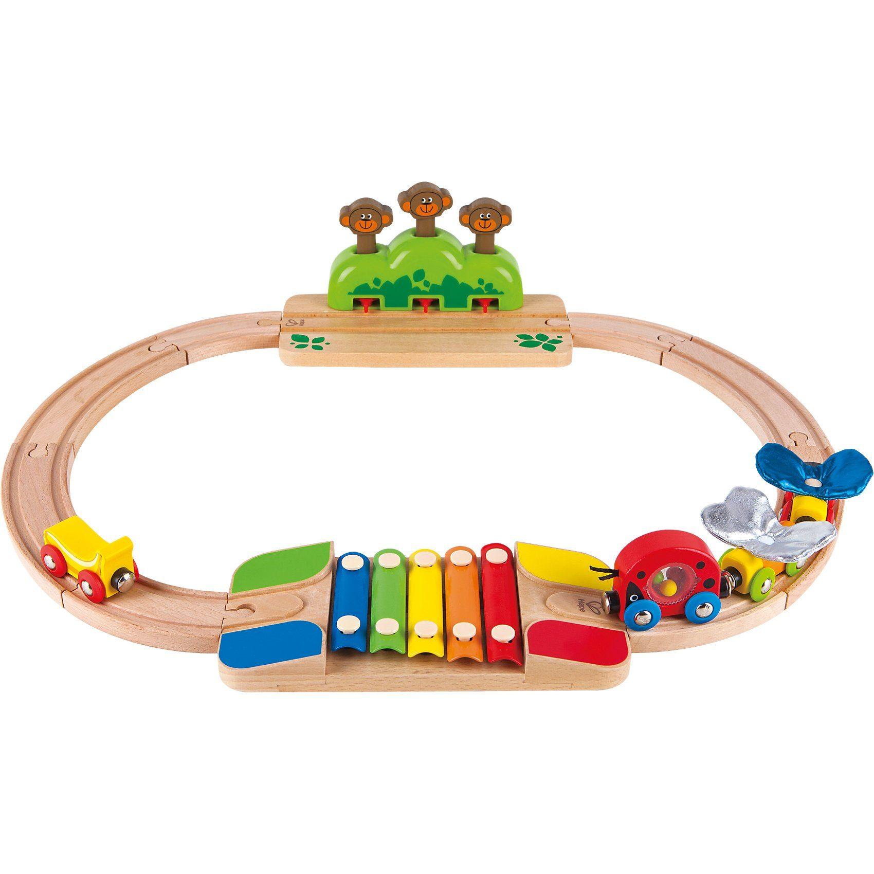 HAPE Mein kleines Eisenbahn-Set