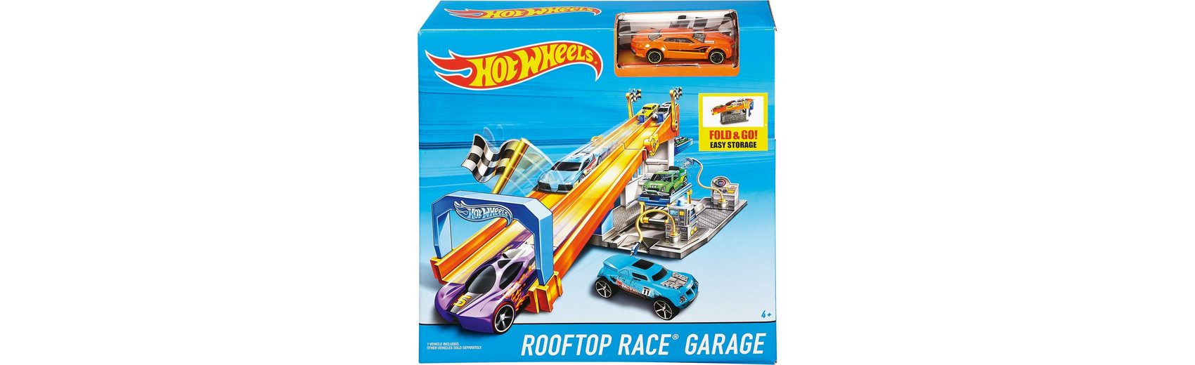 Mattel Hot Wheels Tuning Rennbahn exklusiv