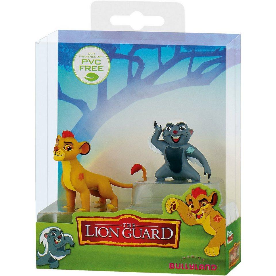 BULLYLAND Comicwelt - Disney Die Garde der Löwen - Geschenkset Kion &