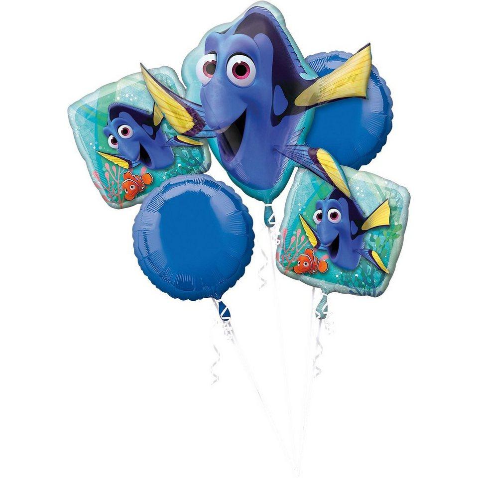 Amscan Folienballonstrauß Findet Dorie