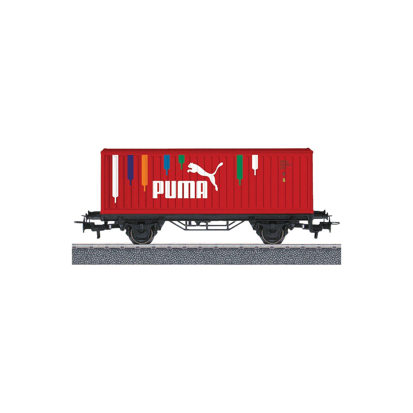 """Märklin START UP 44811 Containerwagen mit """"PUMA""""-Werbebeschriftung"""