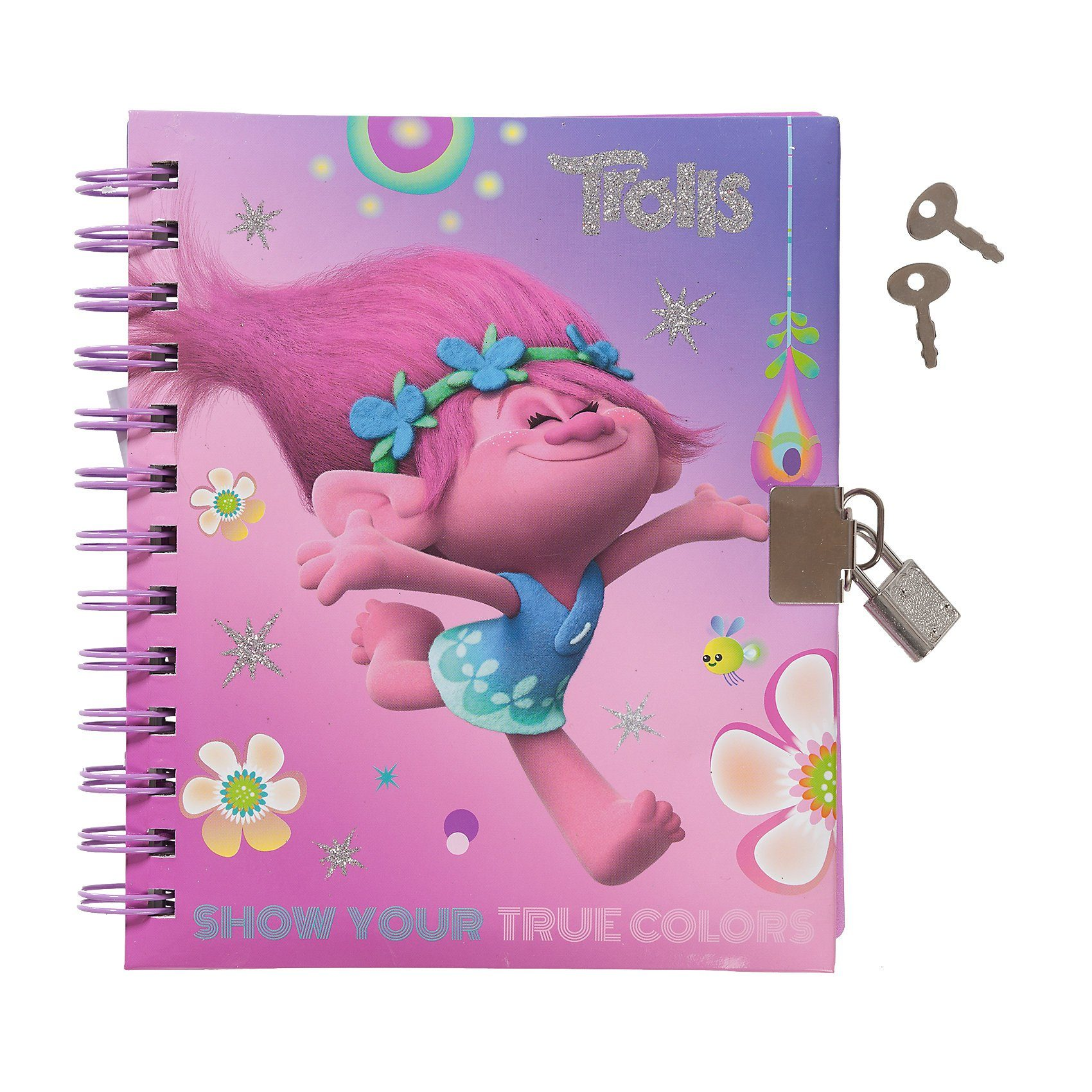 Tagebuch Trolls, mit Schloss