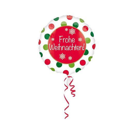 Amscan FolienballonFroheWeihnachten