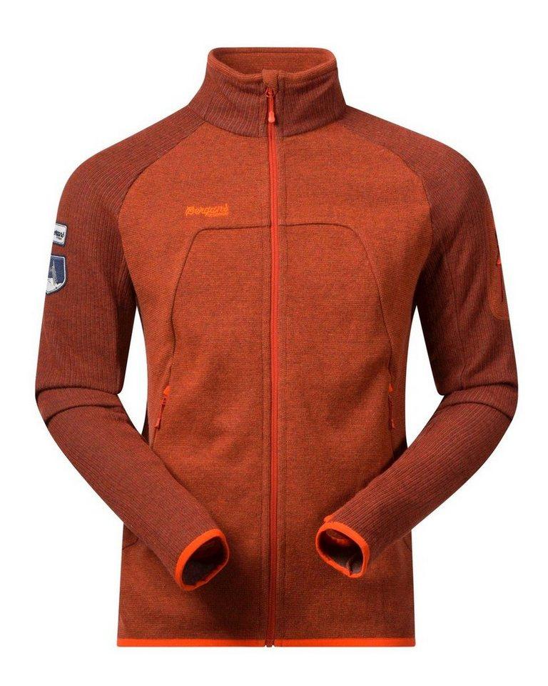 Bergans Weste Timian in Orange/Rot