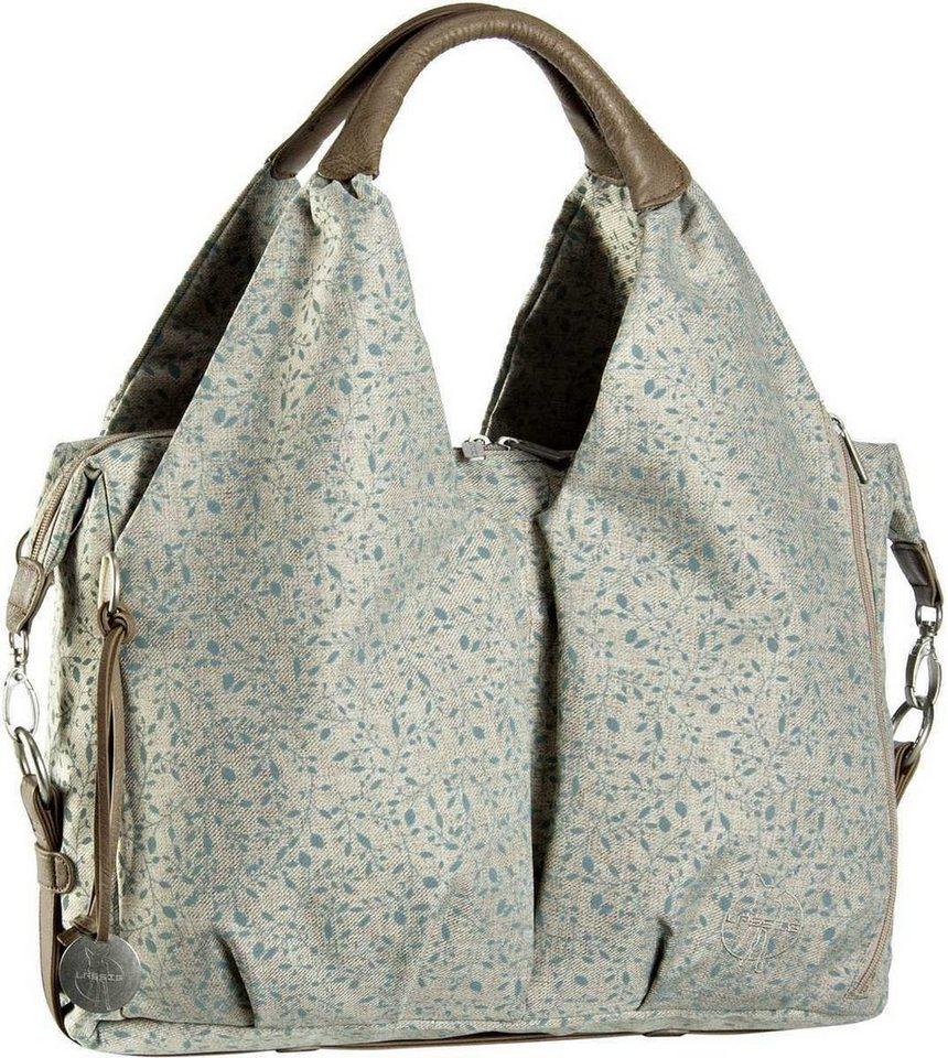 Lässig Neckline Bag Allover Fleur in Choco Mélange
