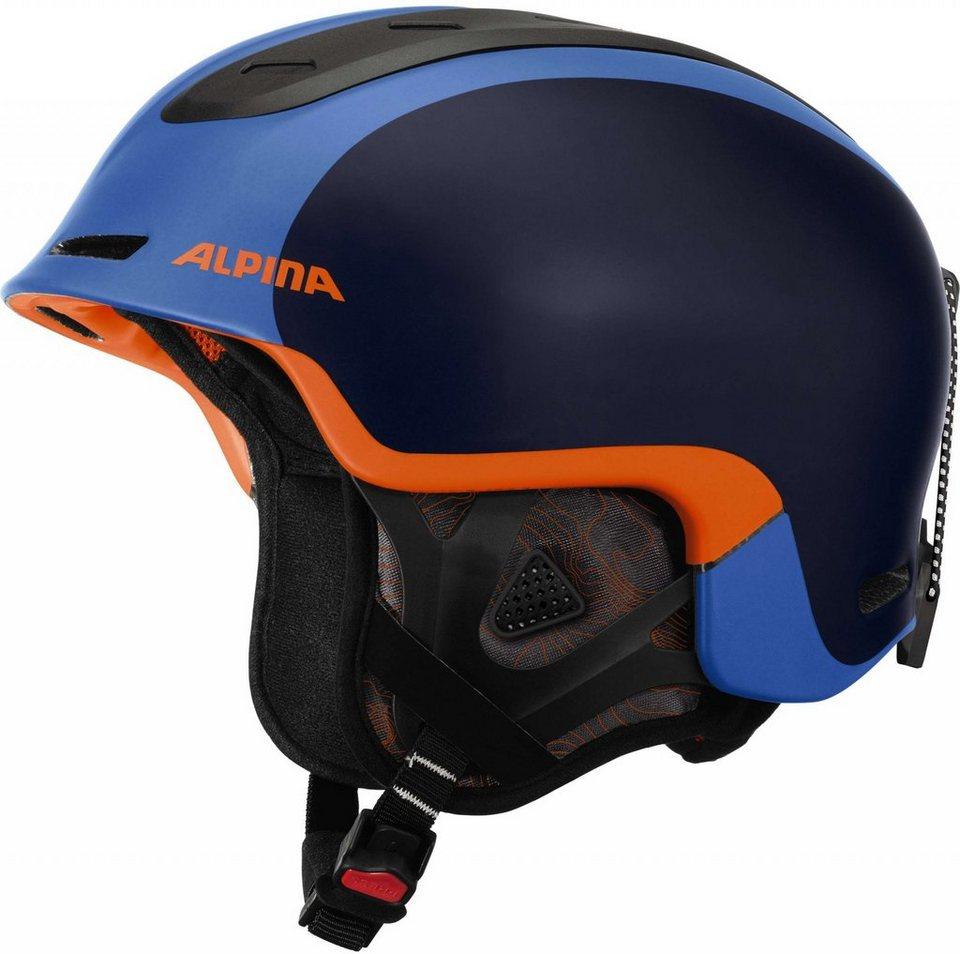 Alpina Ski - / Snowboardhelm »Spine Helmet« in blau