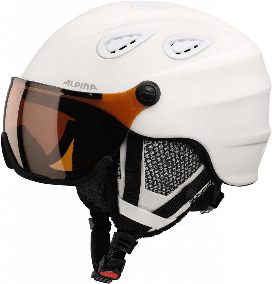 Alpina Ski - / Snowboardhelm »Grap Visor HM Helmet« in weiß