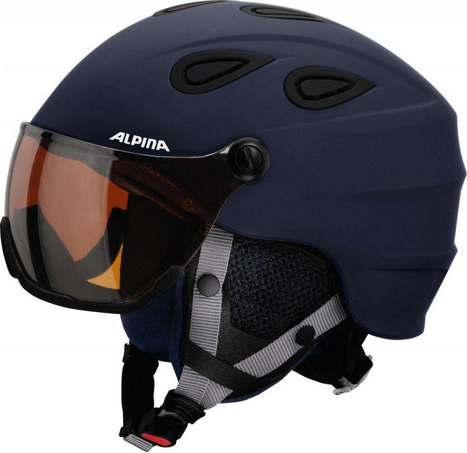 Alpina Ski - / Snowboardhelm »Grap Visor HM Helmet« in blau