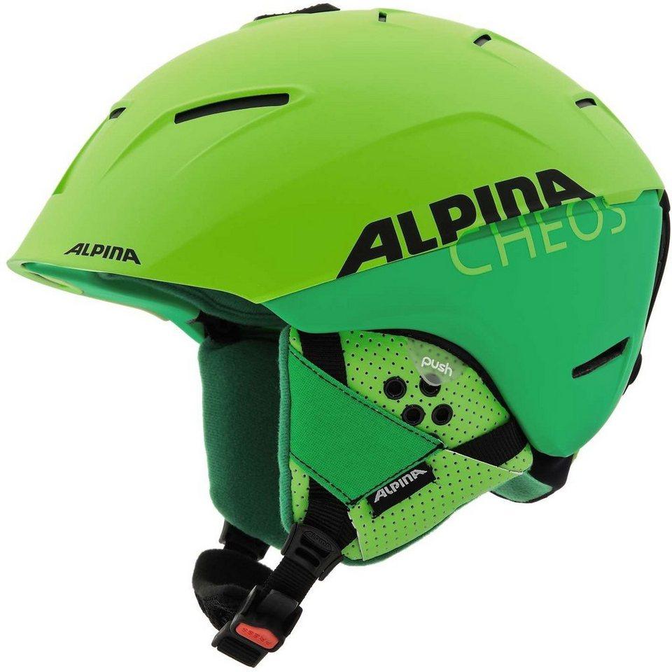 Alpina Ski - / Snowboardhelm »Cheos Helmet« in grün