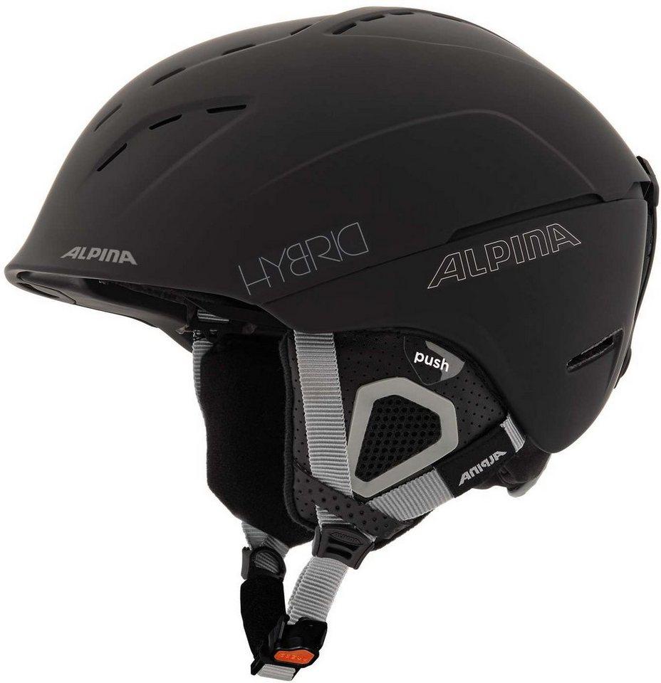 Alpina Ski - / Snowboardhelm »Spice Helmet« in schwarz
