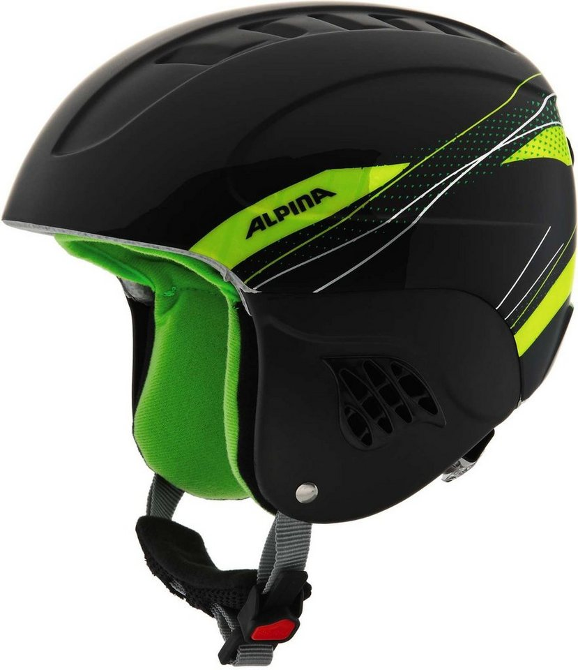 Alpina Ski - / Snowboardhelm »Carat Helmet« in schwarz