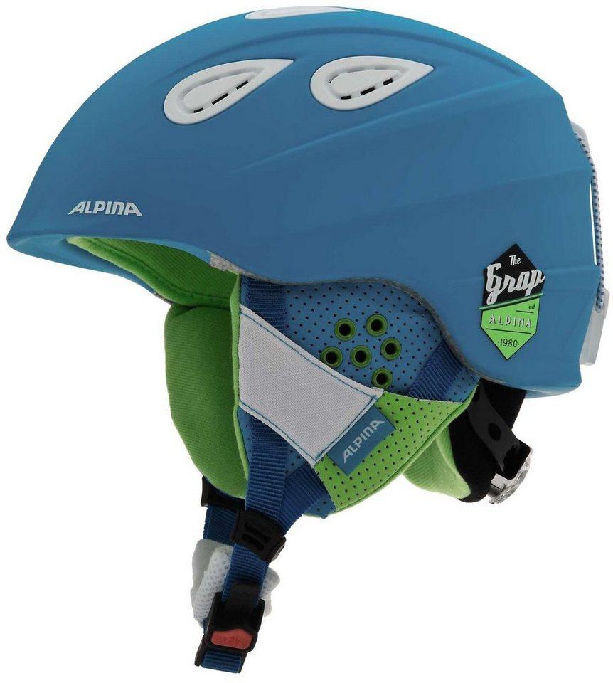 Alpina Ski - / Snowboardhelm »Grap 2.0 Helmet« in blau