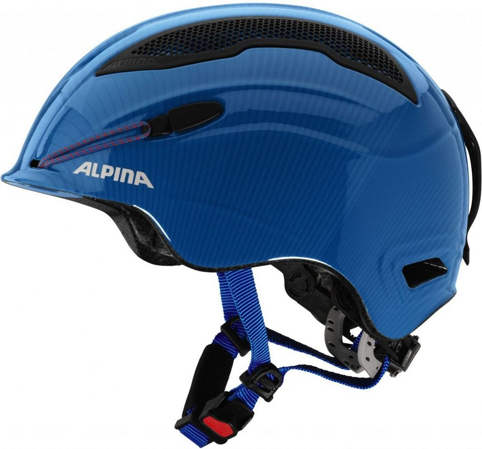 Alpina Ski - / Snowboardhelm »Snow Tour Helmet Incl. Earpad« in blau