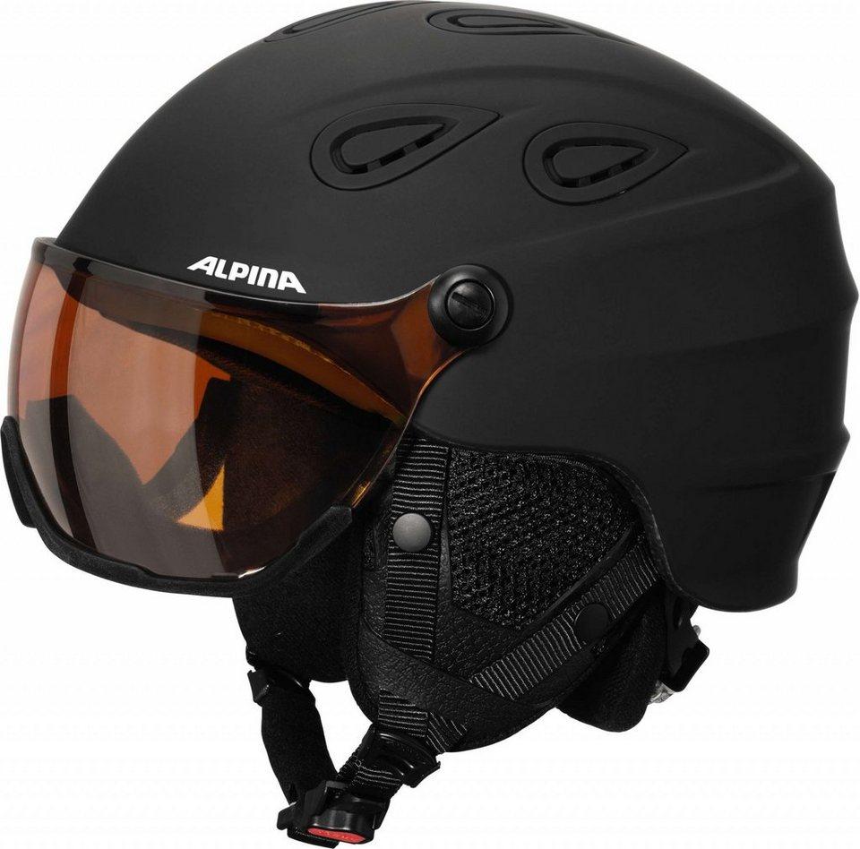 Alpina Ski - / Snowboardhelm »Grap Visor HM Helmet« in schwarz