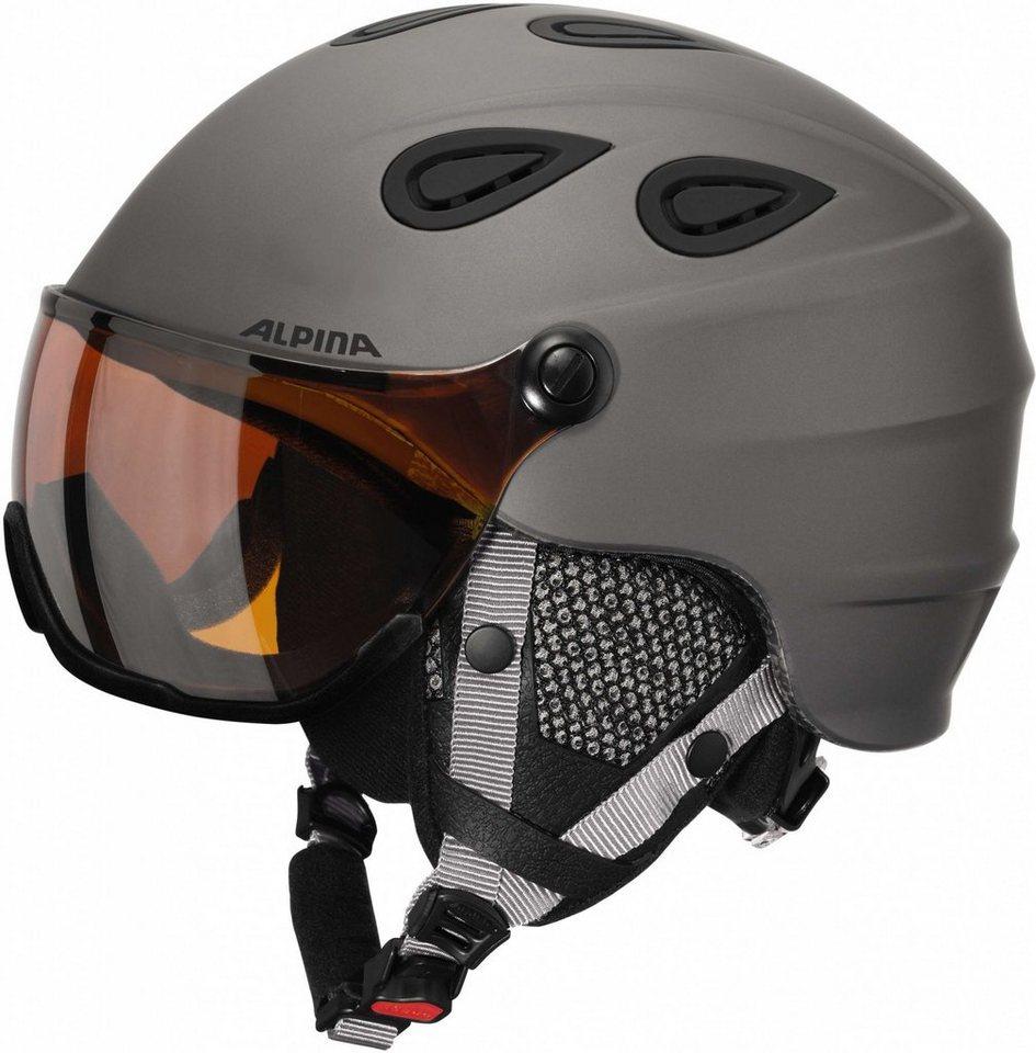Alpina Ski - / Snowboardhelm »Grap Visor HM Helmet« in grau