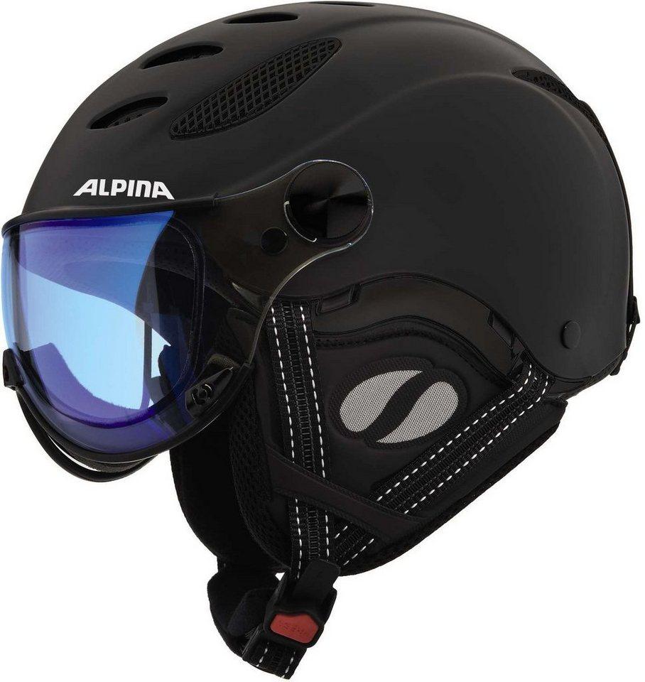 Alpina Ski - / Snowboardhelm »Jump JV VHM Helmet« in schwarz