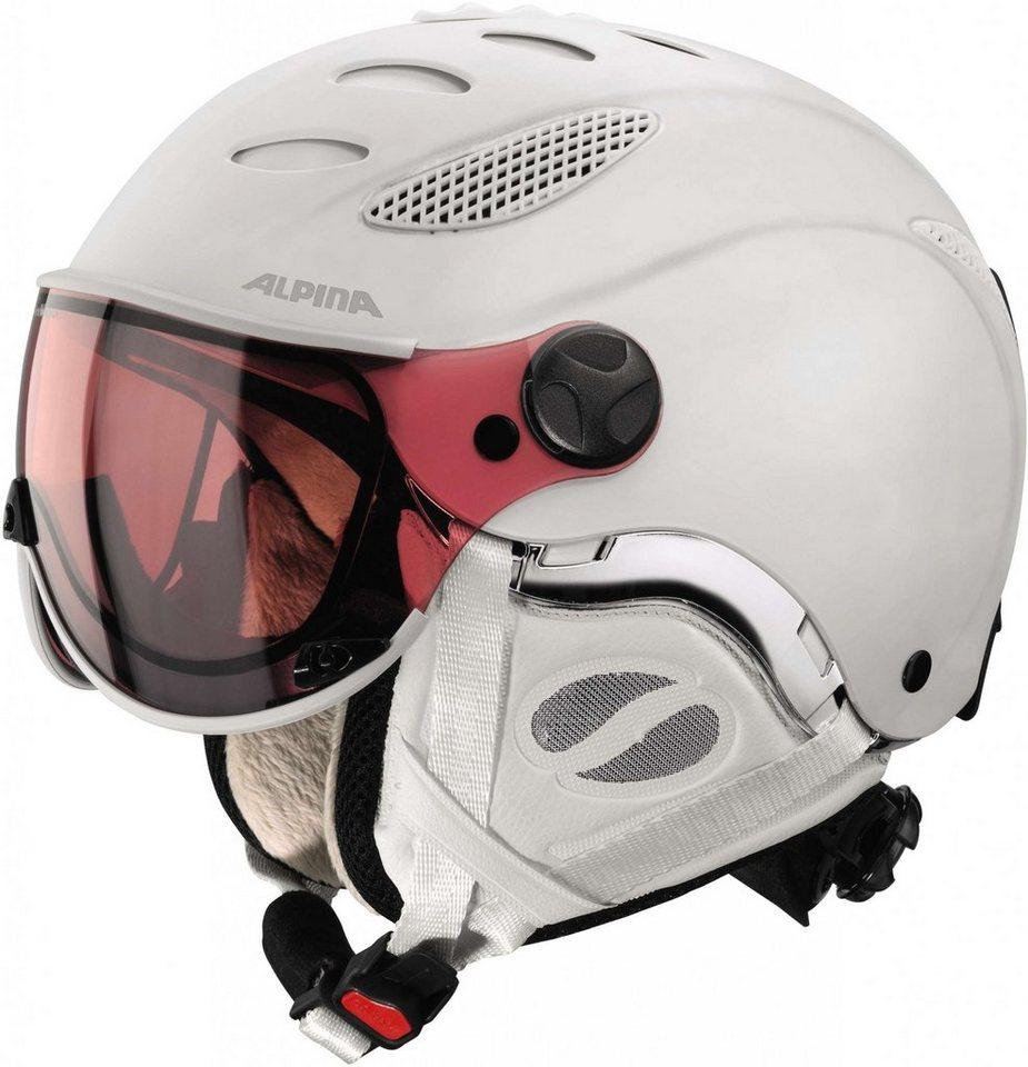 Alpina Ski - / Snowboardhelm »Jump JV QVHM Helmet« in weiß