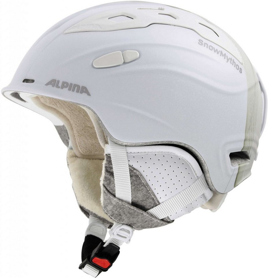 Alpina Ski - / Snowboardhelm »Snowmythos Helmet« in weiß