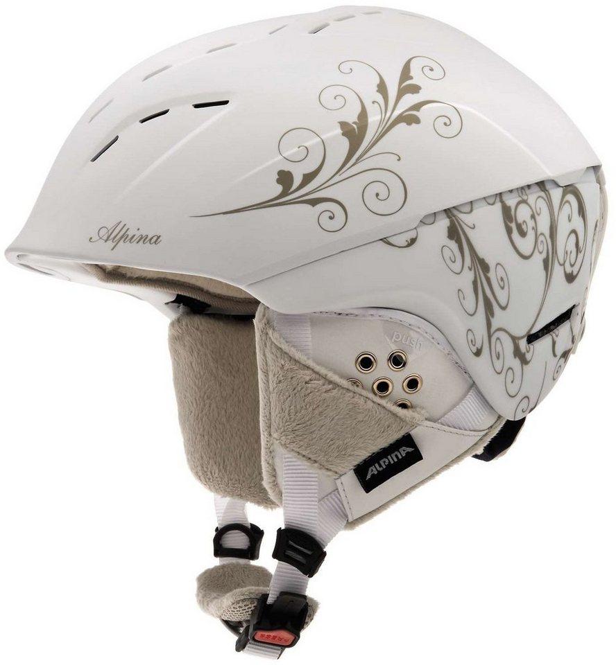 Alpina Ski - / Snowboardhelm »Spice Helmet« in weiß