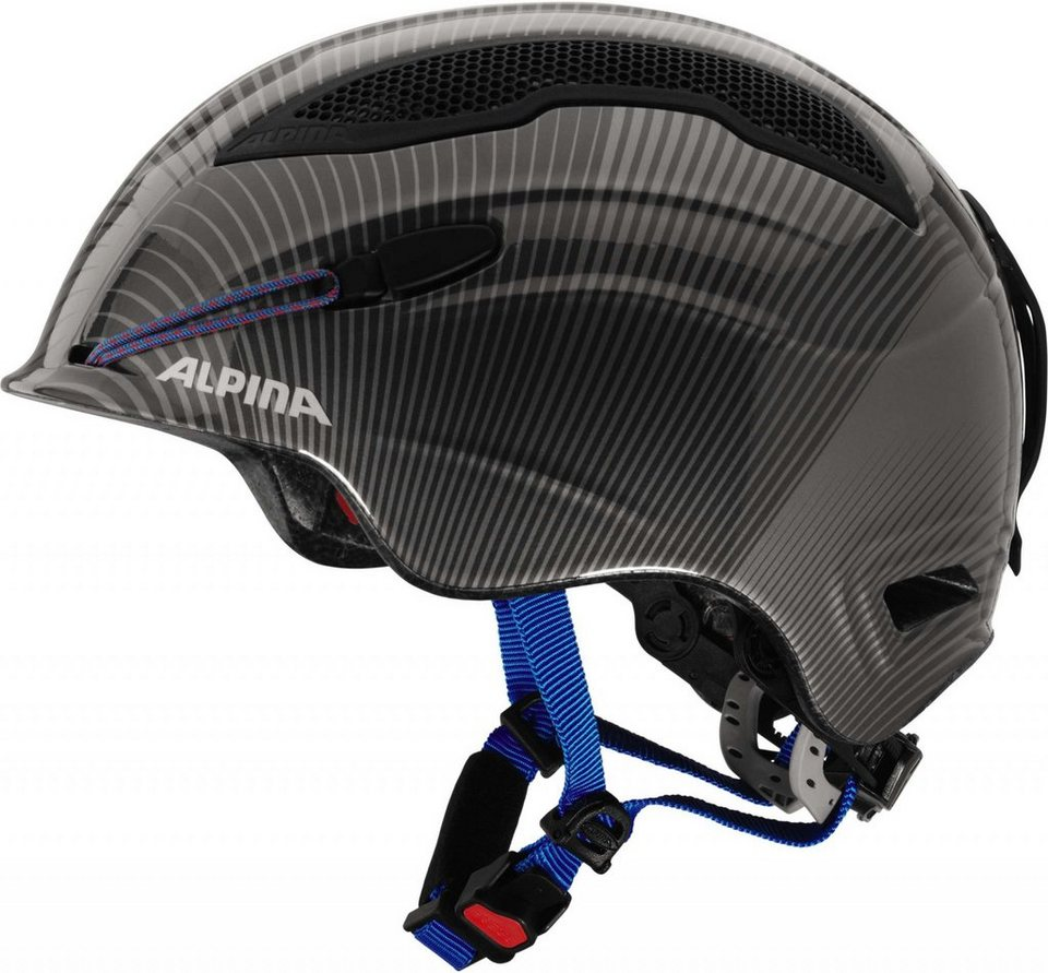 Alpina Ski - / Snowboardhelm »Snow Tour Helmet Incl. Earpad« in grau