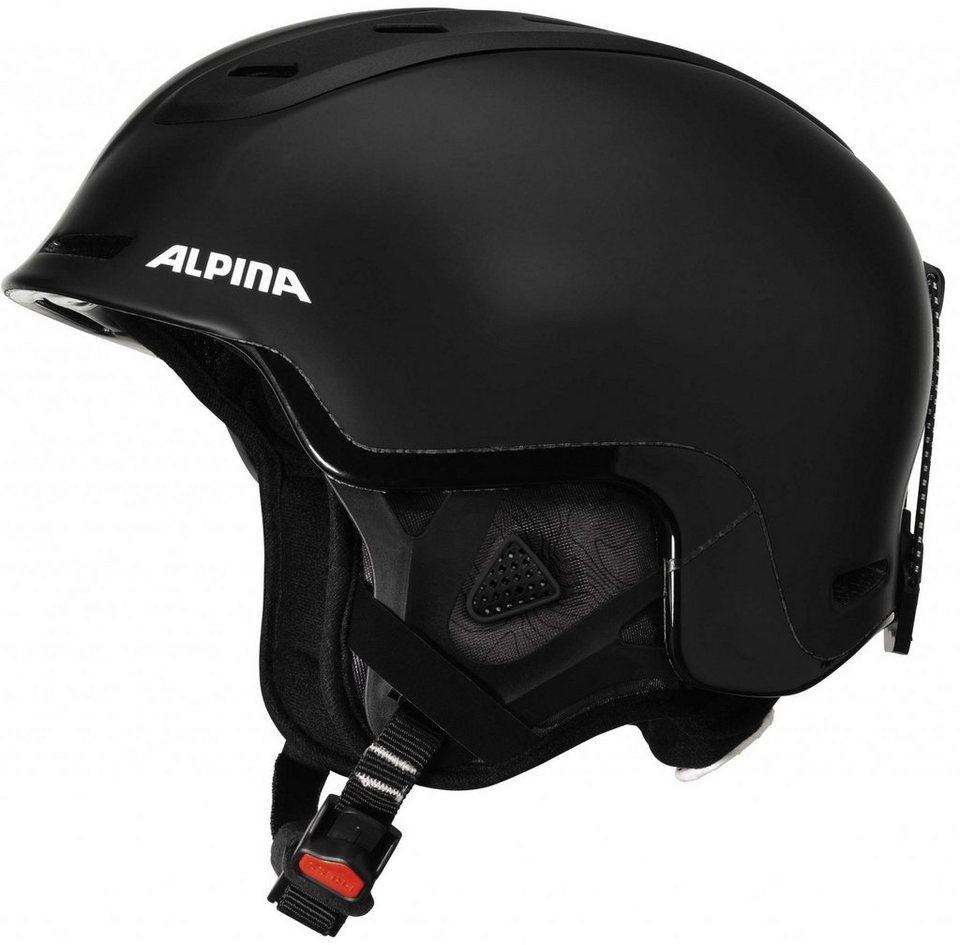 Alpina Ski - / Snowboardhelm »Spine Helmet« in schwarz