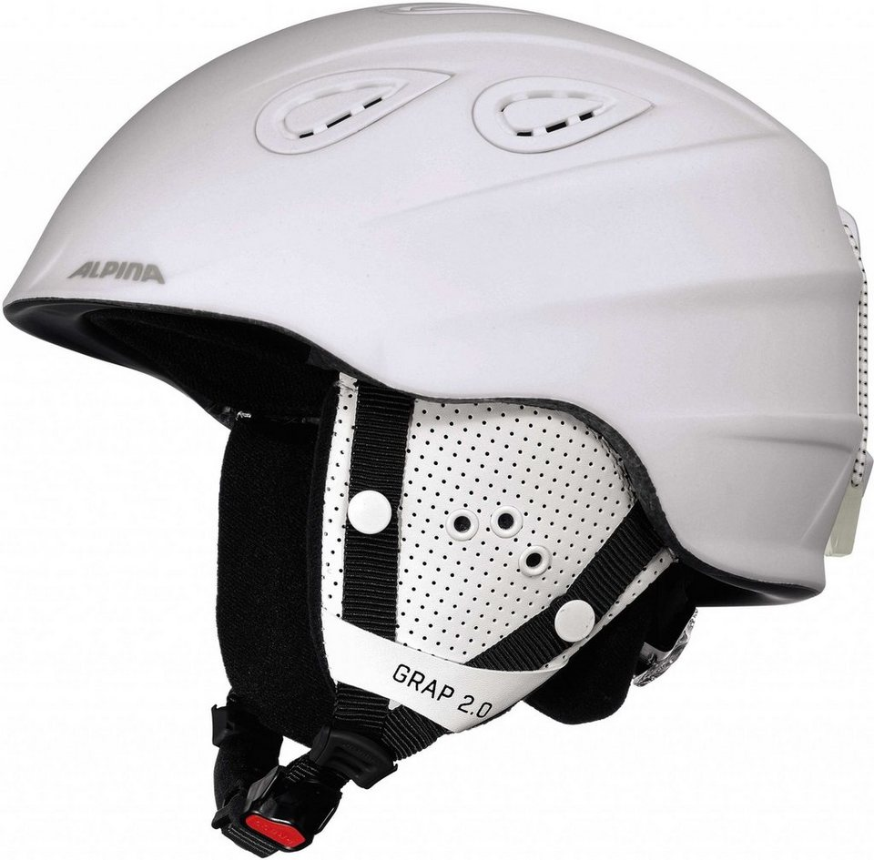 Alpina Ski - / Snowboardhelm »Grap 2.0 Helmet« in weiß