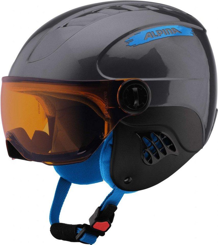 Alpina Ski - / Snowboardhelm »Carat Visor Helmet« in grau
