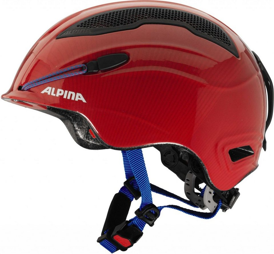 Alpina Ski - / Snowboardhelm »Snow Tour Helmet Incl. Earpad« in rot