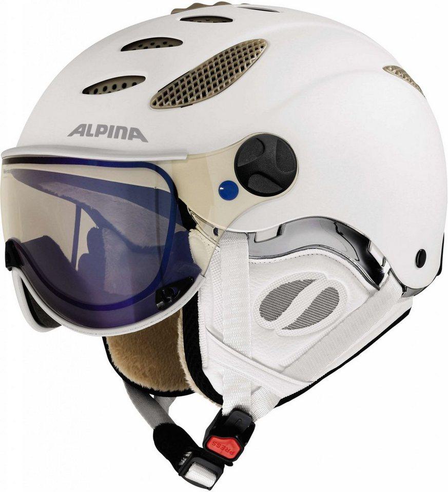 Alpina Ski - / Snowboardhelm »Jump JV VHM Helmet« in weiß