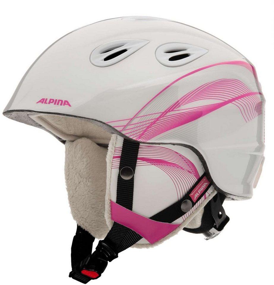 Alpina Ski - / Snowboardhelm »Grap 2.0 Helmet Juniors« in weiß