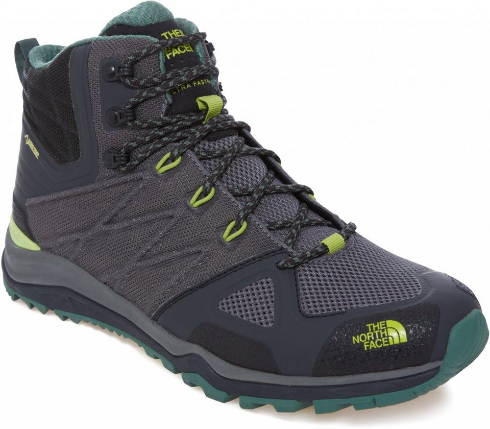 The North Face Kletterschuh »Ultra Fastpack II Mid GTX Shoes Men« in grau