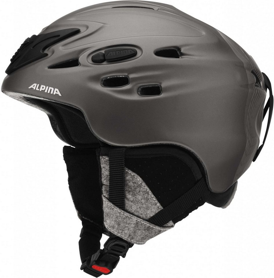 Alpina Ski - / Snowboardhelm »Scara Helmet« in grau