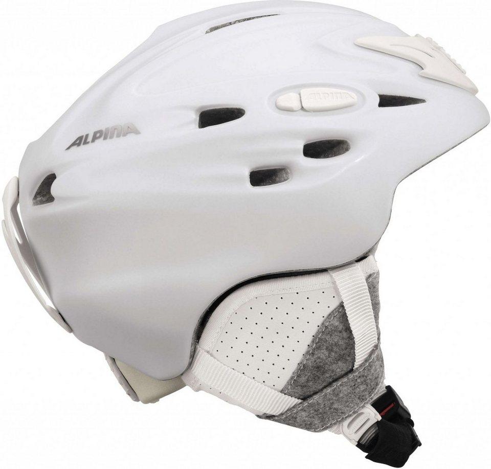 Alpina Ski - / Snowboardhelm »Scara Helmet« in weiß
