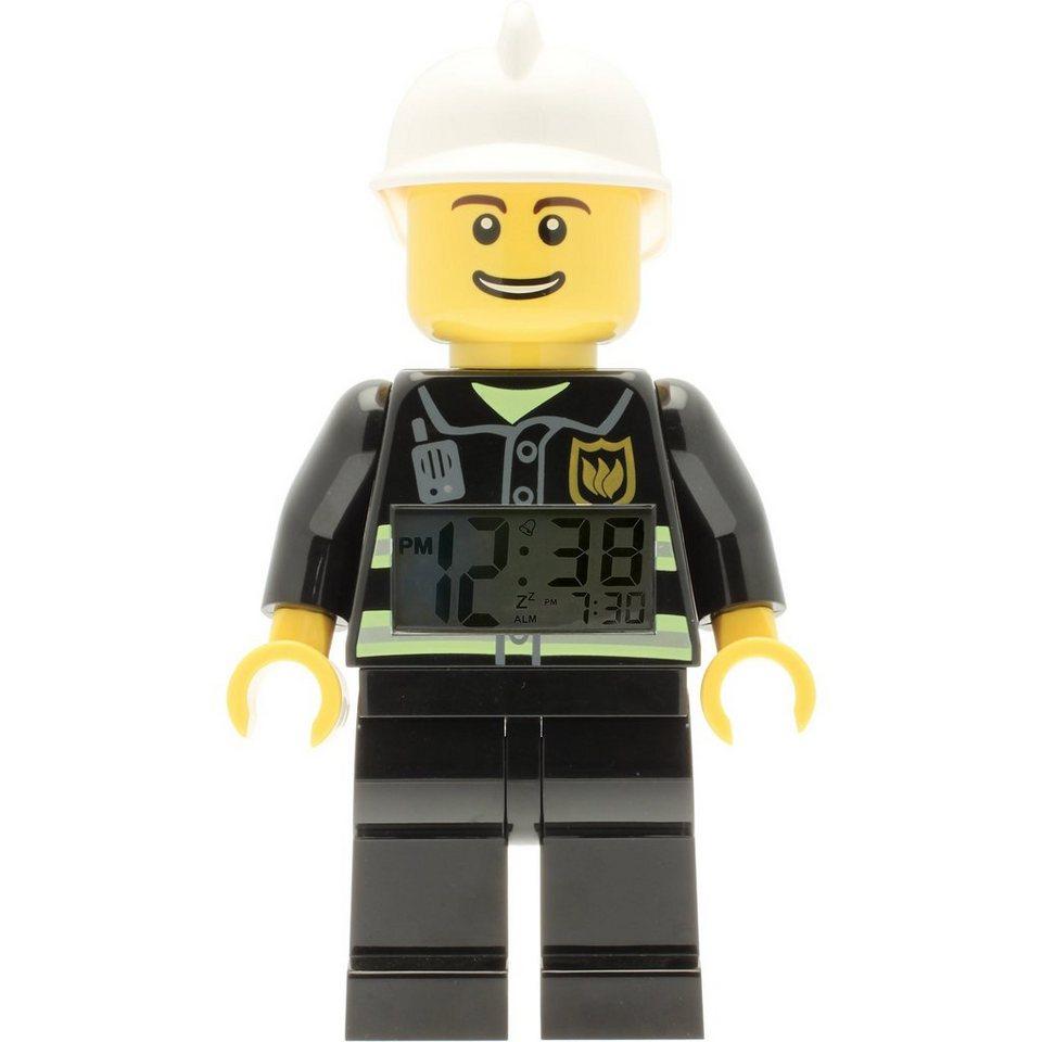 LEGO® City Wecker - Feuerwehr, Altersempfehlung: ab 5
