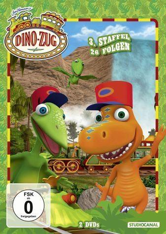 DVD »Dino-Zug - 3. Staffel, 26 Folgen (2 Discs)«