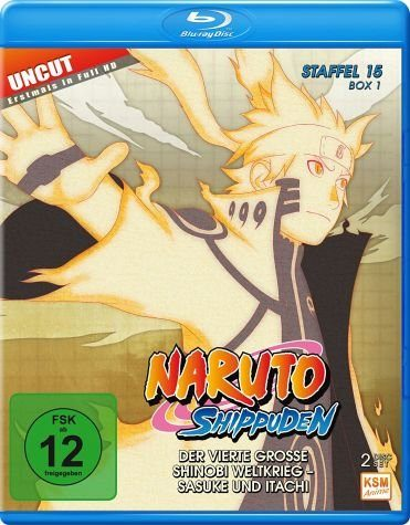 Blu-ray »Naruto Shippuden - Die komplette Staffel 15,...«