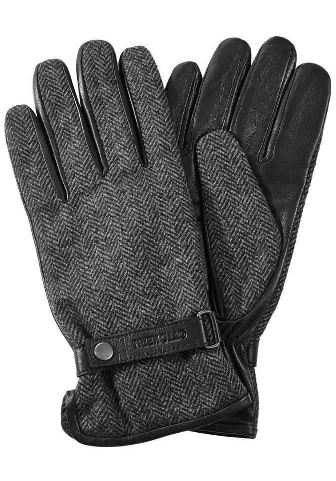 Otto Kern Handschuhe in anthrazit