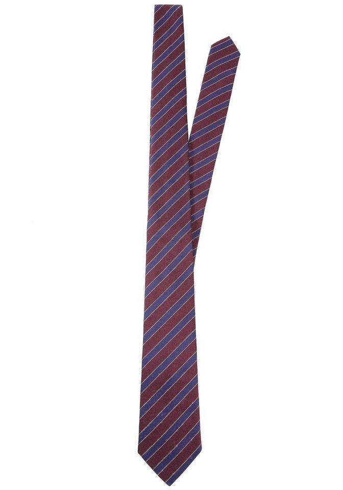 Otto Kern Krawatte in bordeaux