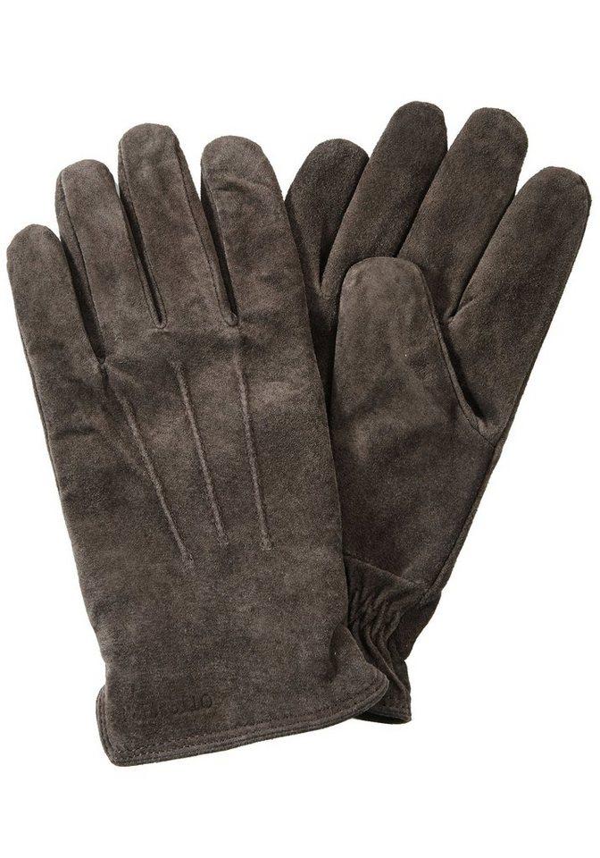 Otto Kern Handschuhe in dunkelbraun