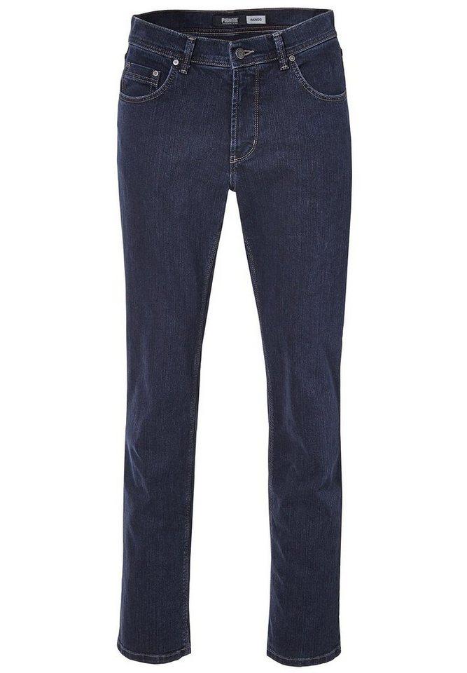 PIONEER Jeans Rinsed Washed »RANDO« in rinsed denim