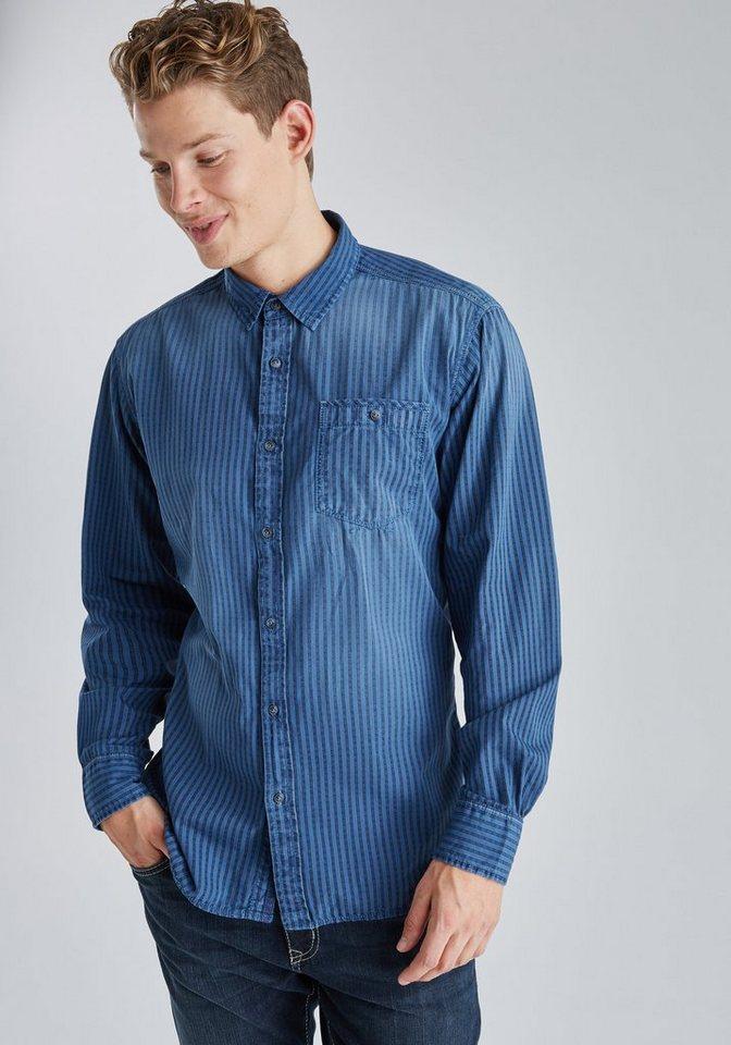 PIONEER Hemd in blau