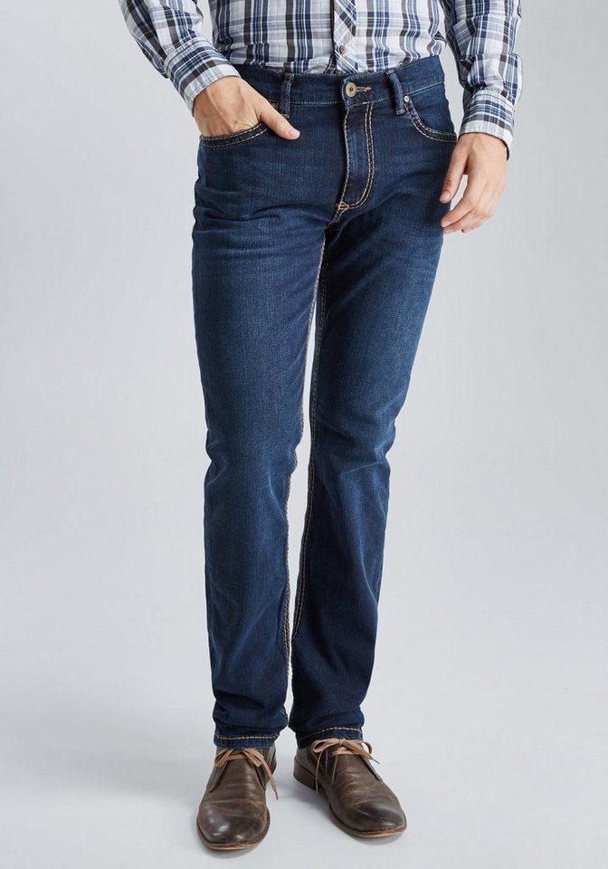 PIONEER Handcrafted Jeans »RANDO« in dark-blue denim