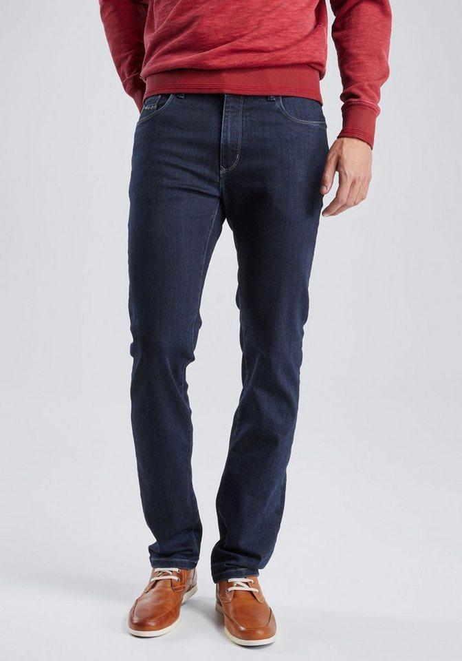 PIONEER Megaflex Jeans »RANDO« in rinsed denim