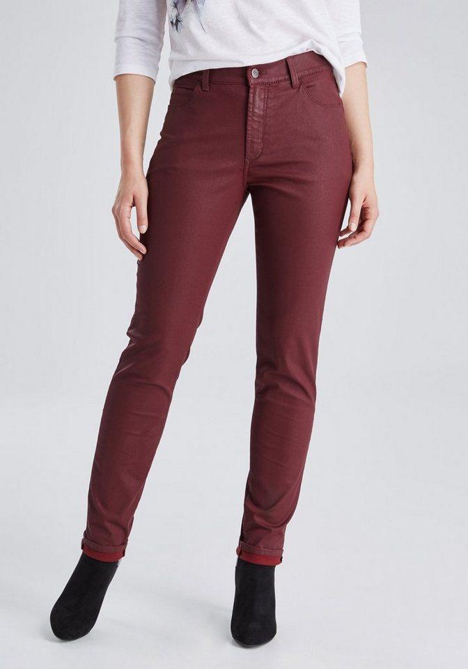 PIONEER Jeans »KATY« in bordeaux