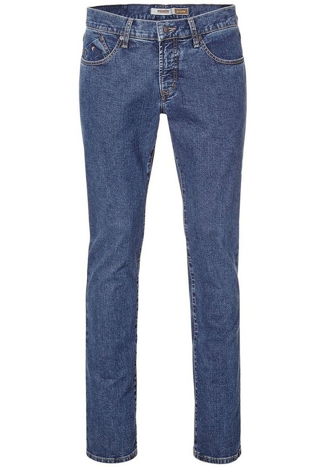 PIONEER Jeans Straight Fit »STORM« in dark-blue denim