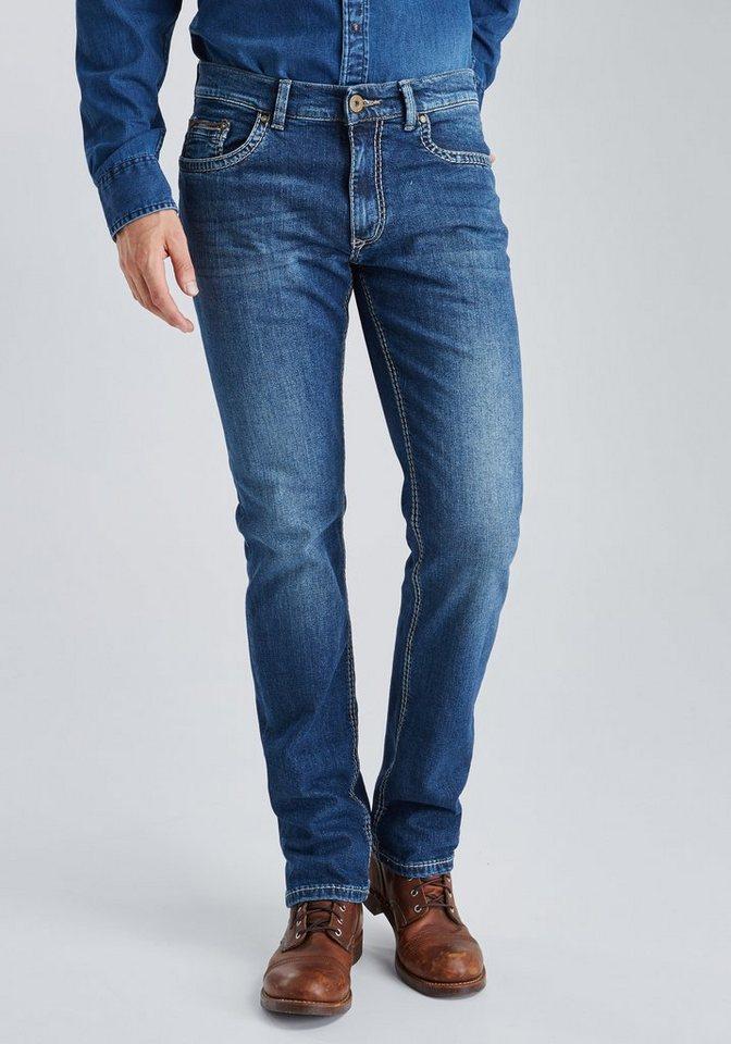 PIONEER Handcrafted Jeans »RANDO« in used denim